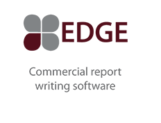 Edge Commercial Report writing software logo