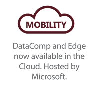 Mobility DataComp and Edge are now available in the cloud and hosted by Microsoft logo